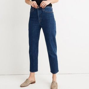 Madewell Tapered Bellclaire Wash Jeans (size 27)